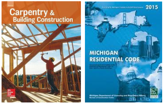 Pre-License Carpentry and Code Book Package - Shipping