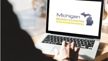 21 Hour Michigan Builders Continuing Competency All-In-One -  Online Course