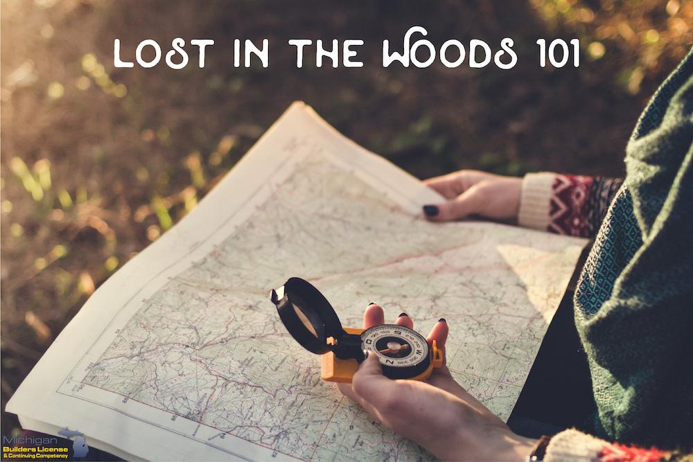 What To Do When Lost In The Woods