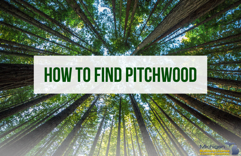 How To Find Pitchwood