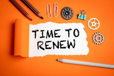What does somebody need to do in order to renew their license?